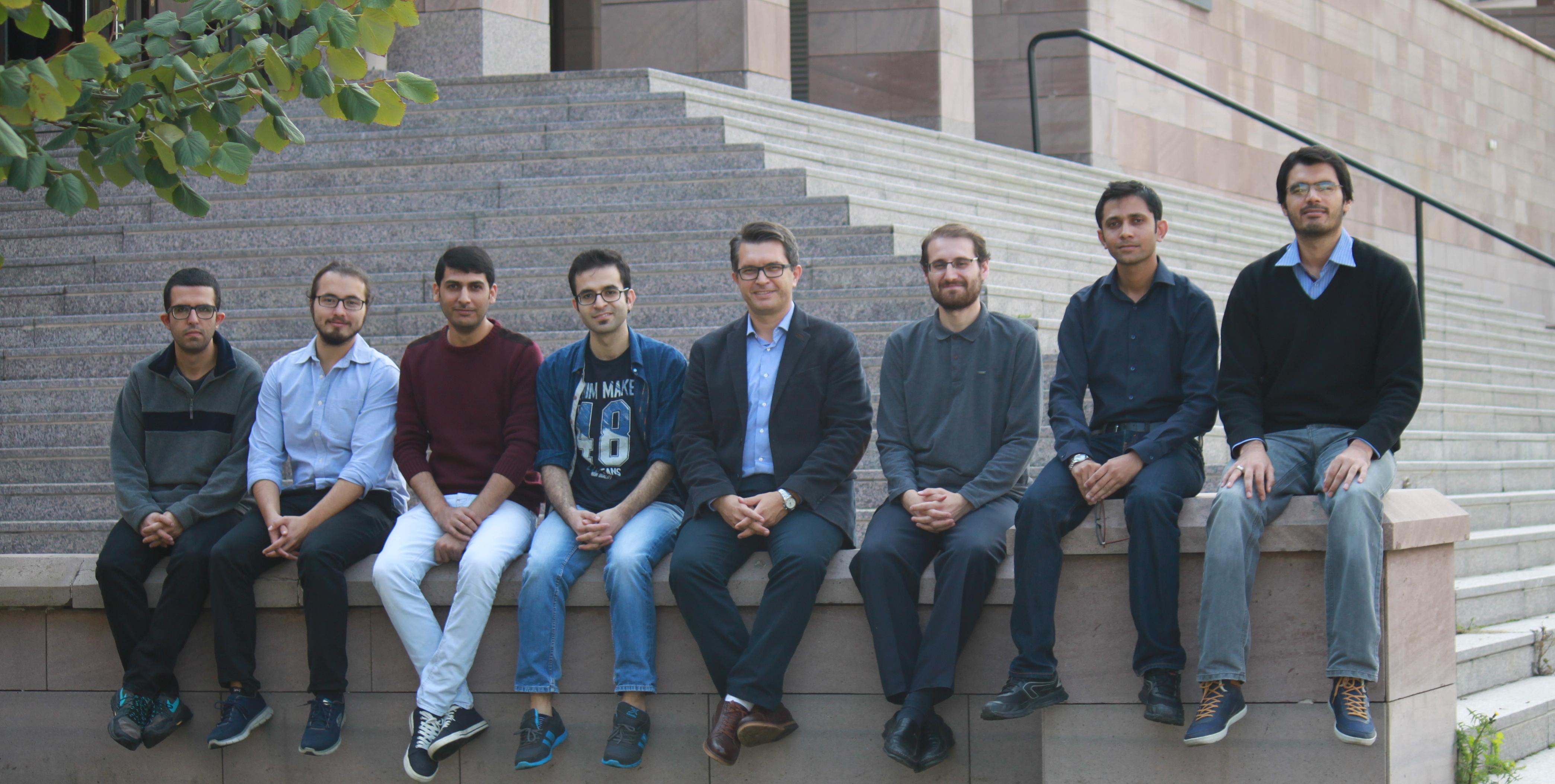 27 Oct. 2015, (from left to right) Mustafa Eryürek, Ayşenur Ateş, Suman Anand, Alper Kiraz, Adil Mustafa, M. Waqas Nawaz, M. Zeeshan Rashid